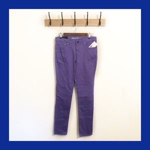 [Kenneth Cole] Purple Slim Fit Jeans Size 29